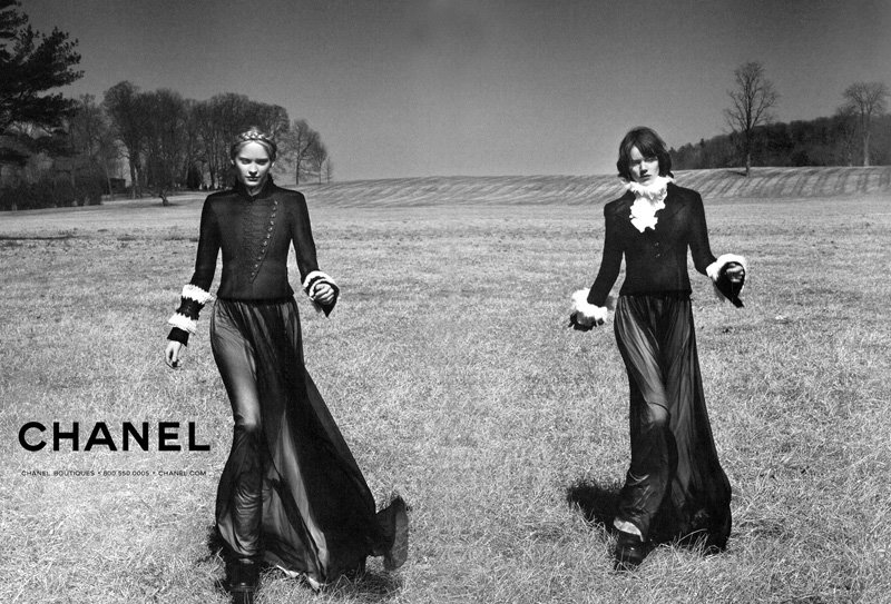 Karl Lagerfeld chanel winter ad campaign