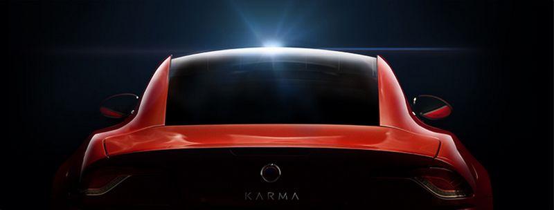 Karma Automotive cars