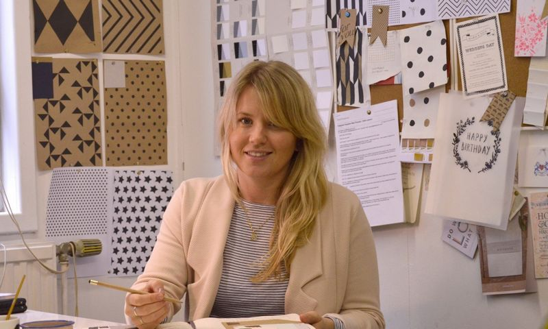 Katie Leamon is based in London, with a family-run production studio in Essex -