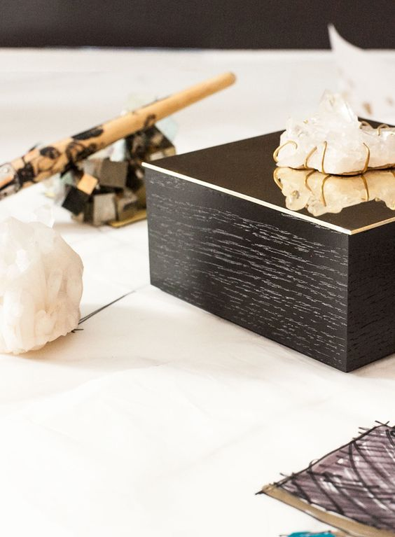 Kelly Wearstler For Crème De La Mer Vanity Box-Kelly Wearstler's latest crystal-capped objet d'art for Genaissance de la Mer-