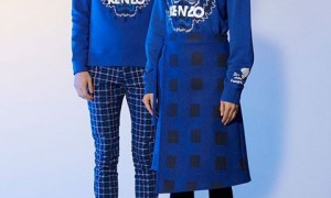 Kenzo Blue Foundation-