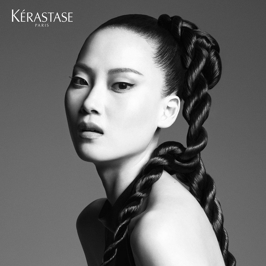 Kerastase Couture Styling Visions of Style 2015 campaign - Look n°2  La Tresse