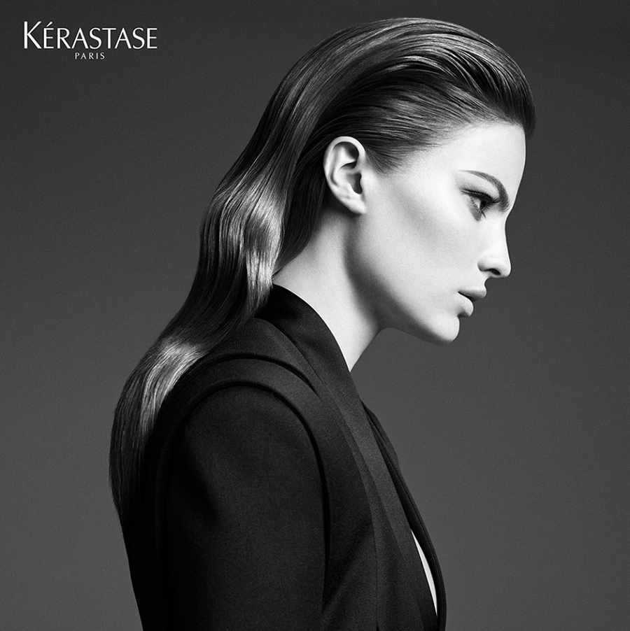 Kerastase Couture Styling Visions of Style 2015 campaign - Look n°3 Le sleek