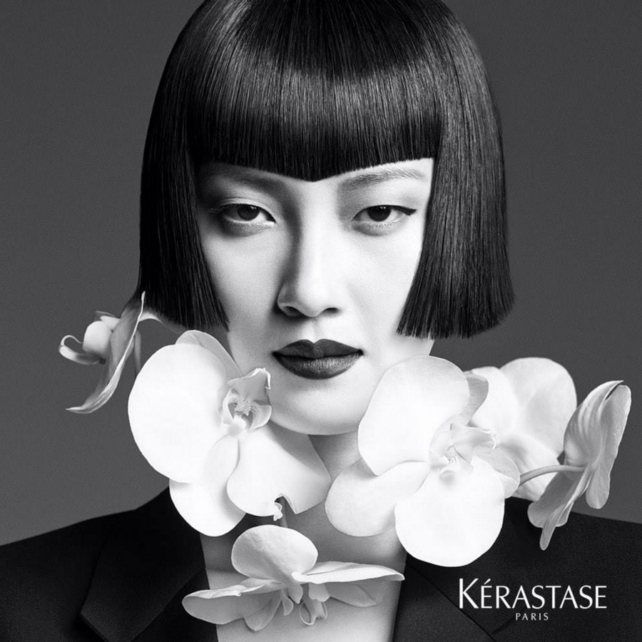 Kerastase Couture Styling Visions of Style 2015 campaign - Look n°4  Le Carré