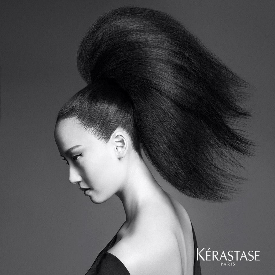 Kerastase Couture Styling Visions of Style 2015 campaign-Look n°6 La Pony
