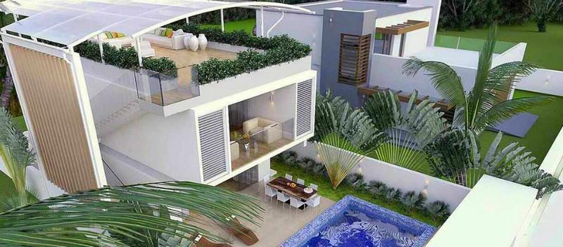 Koh Samuit 3-BEDROOM VILLA ONLY 300 METERS FROM BAN TAI BEACH