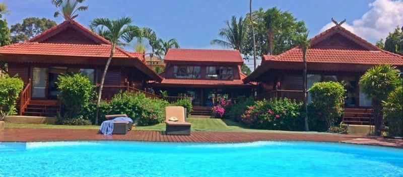 Koh Samuit Thailand - 5-BEDROOM BEACHFRONT VILLA IN BANGRAK Luxury Living Koh Samui