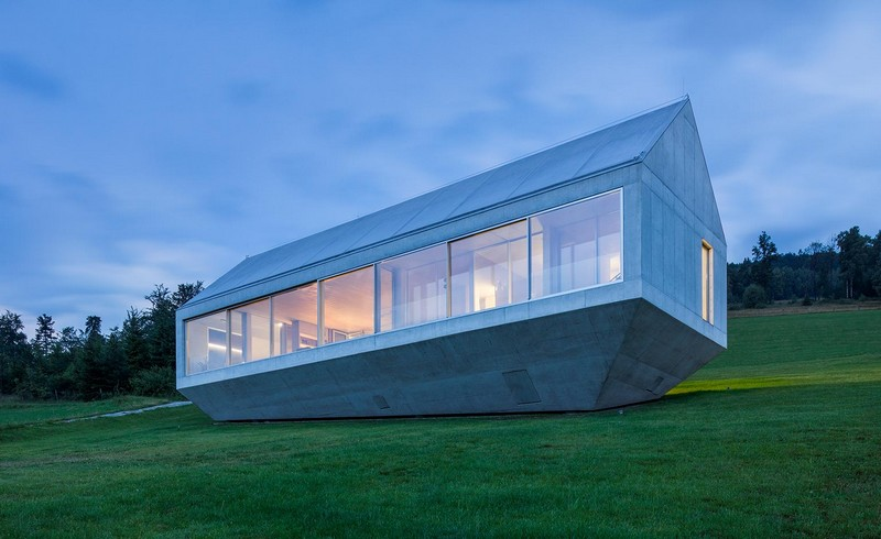Konieczny's Ark, Poland, by KWK Promes - Best new private house