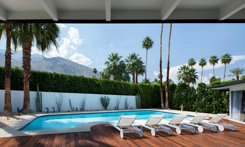 L'Horizon Resort & Spa, Palm Springs, California, USA-Private Pool The Residence