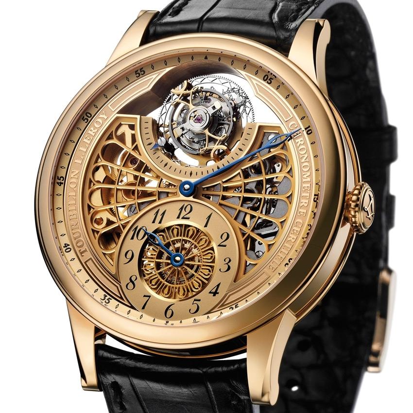 L.LEROY AUTOMATIC TOURBILLON REGULATOR watch