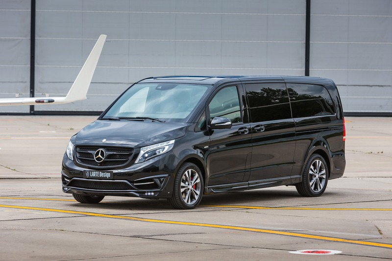 LARTE Black Crystal V-Class-2016- Domodedovo Airport - lateral photos
