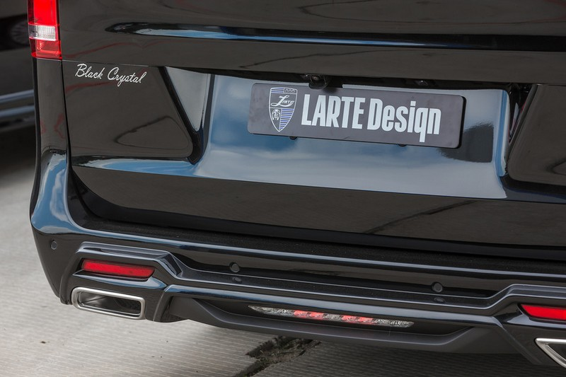 LARTE Black Crystal V-Class-2016 model - Larte Design tuning package - rear-