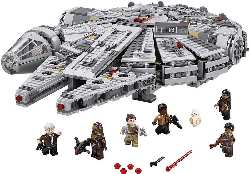 LEGO Star Wars - The Force Awakens Millenium Falcon by The LEGO Group