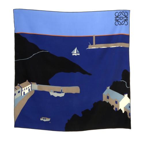 LOEWE X JOHN ALLEN Foulard pattern