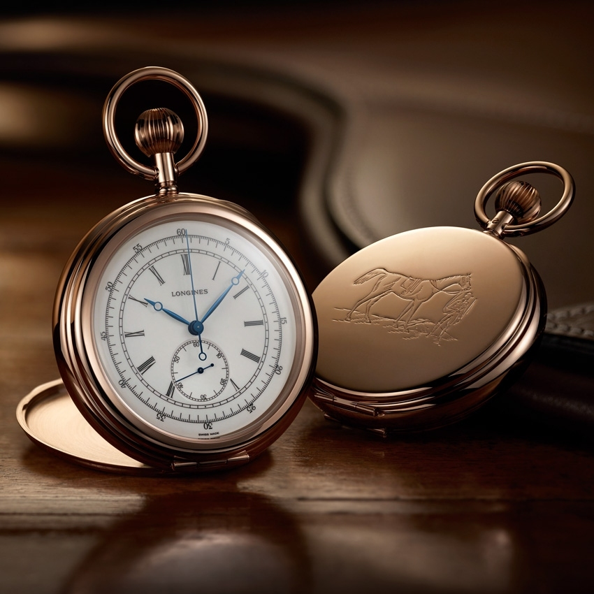 LONGINES The Longines Equestrian Pocket Watch Jockey 1878