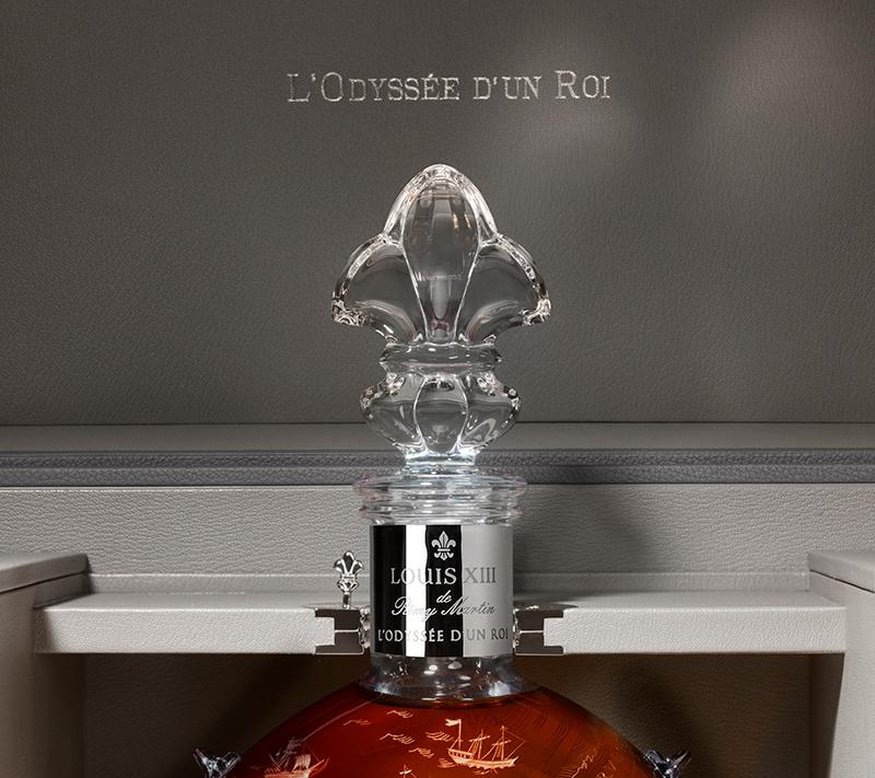 LOUIS XIII Cognac L'Odyssee d'un roi bottles-decanter