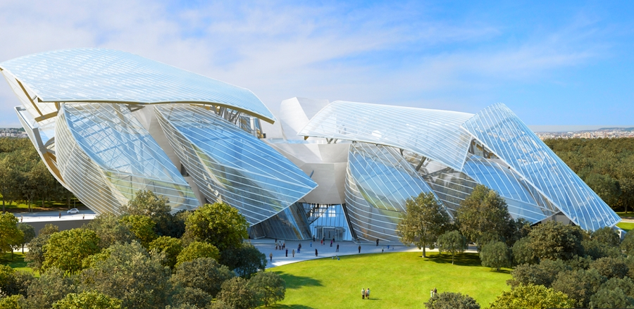 The fondation louis vuitton aims to represent a new phase in the art
