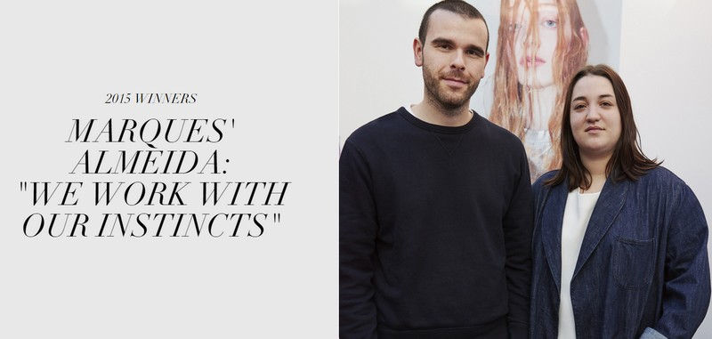 LVMH Prize for young fashion designers-2015 winners
