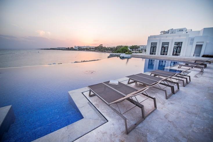 La Badira Hotel, Hammamet, Tunisia  - the pool