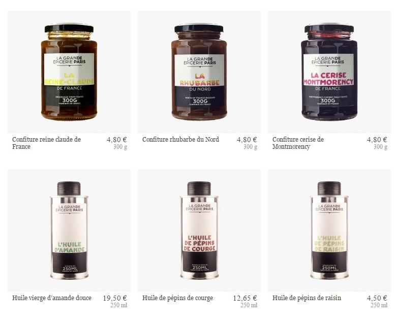 La Grande Epicerie de Paris - the gourmet brand - some prices