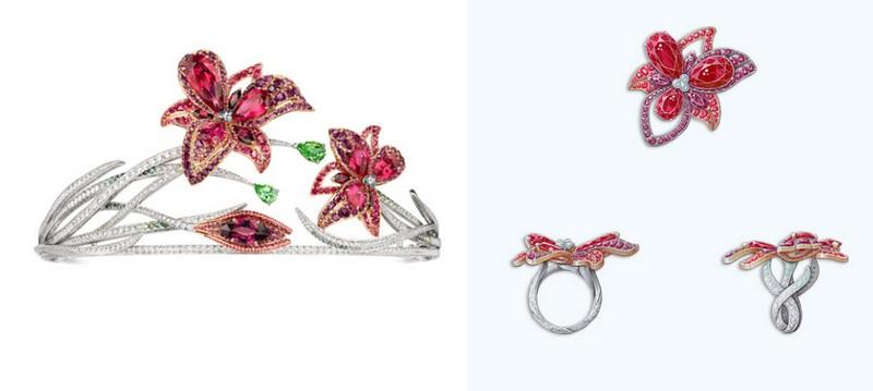 La Nature de Chaumet - Chaumet unveiled its new High Jewellery collection at the Musée Bourdelle Paris - Le lys- - Copy