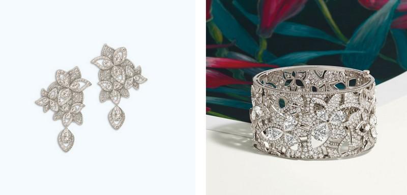 La Nature de Chaumet - Chaumet unveiled its new High Jewellery collection at the Musée Bourdelle Paris - Le lys symbol
