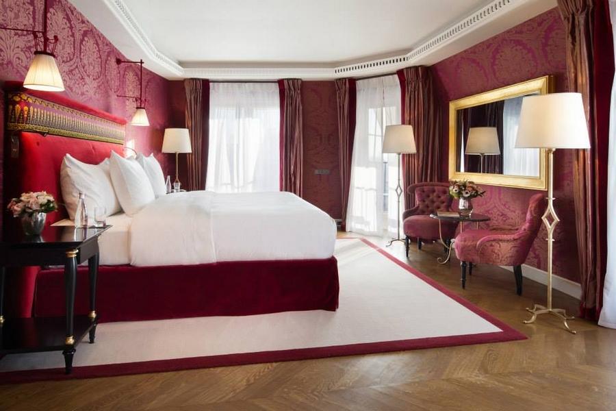 La Reserve Paris Hotel and Spa-room