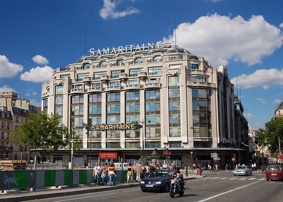 La Samaritaine from Pont Neuf
