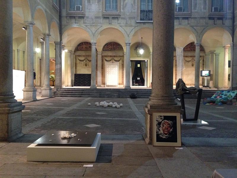 La mostra Pulvis Es & 2° premio cramum 2014, Palazzo Isimbardi, Milano