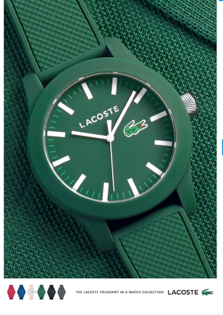 Lacoste watches for Baselworld 2015