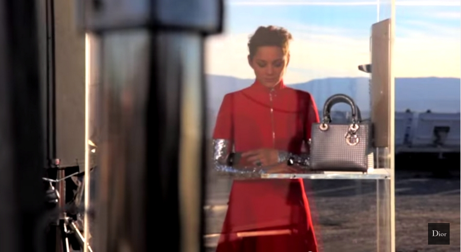 Lady Dior by Peter Lindbergh 2015 ad campaign-Marillon Cotillard-making of