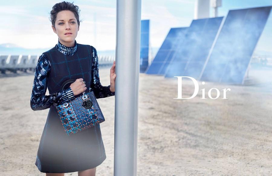Lady Dior by Peter Lindbergh 2015 ad campaign-Marillon Cotillard