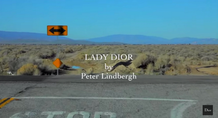 Lady Dior by Peter Lindbergh 2015 ad campaign