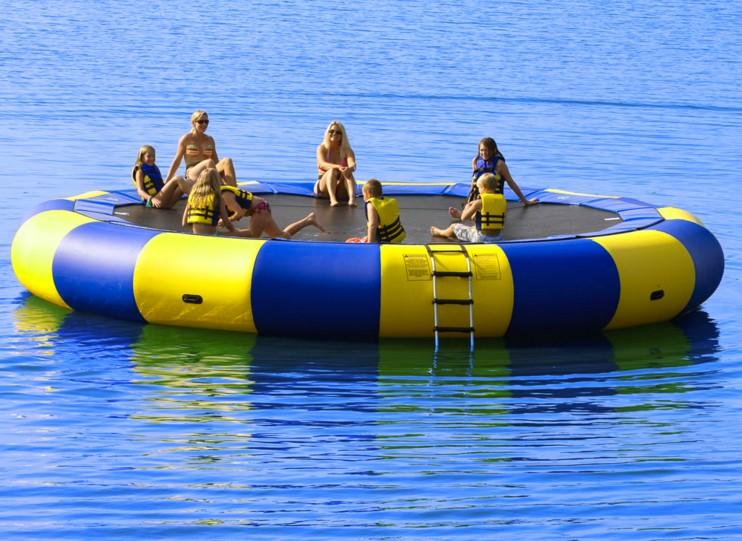 Lake Trampoline