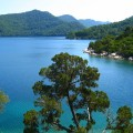 Lake on Mljet Croatia