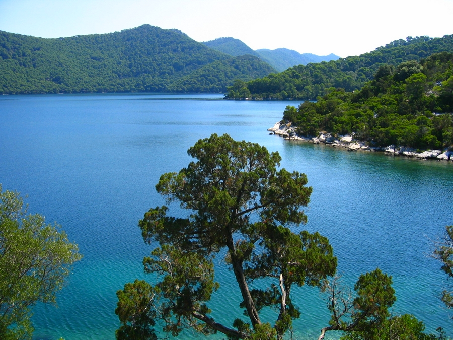 Lake on Mljet Croatia