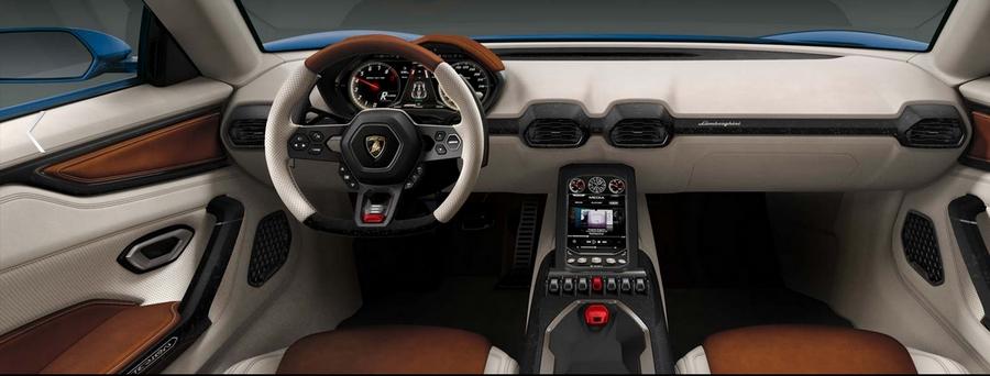 Lamborghini Asterion LPI 910-4 concept-interior
