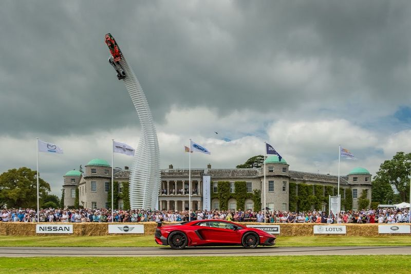 Lamborghini Goodwood Festival of Speed 2015-