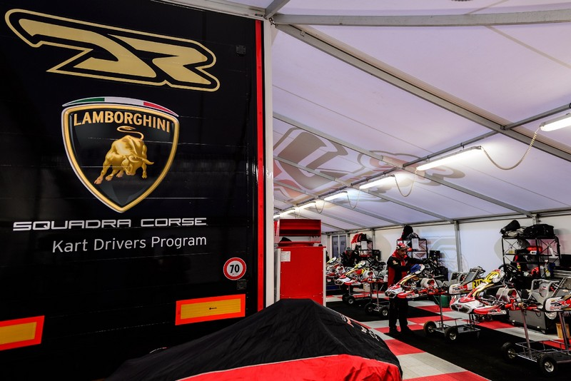 Lamborghini Squadra Corse launches the Kart Drivers Program--