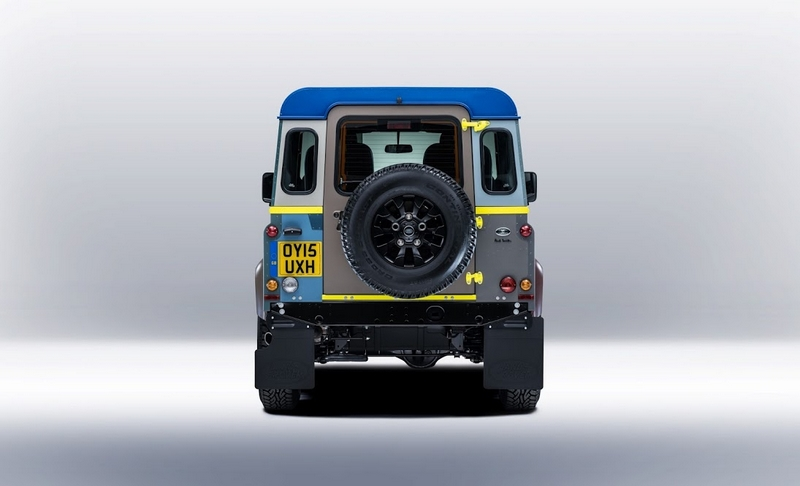 Land Rover's tailor-made Defender for Paul Smith-2015-back