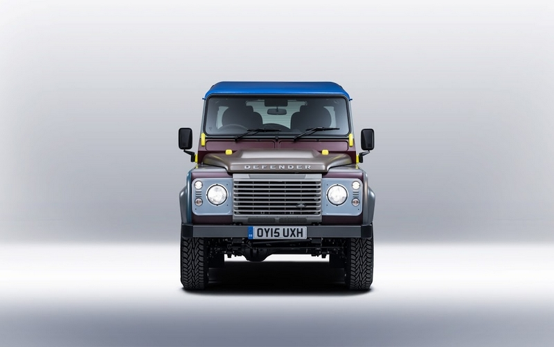 Land Rover's tailor-made Defender for Paul Smith-2015-front
