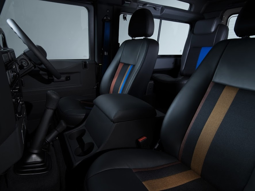 Land Rover's tailor-made Defender for Paul Smith-2015-interior