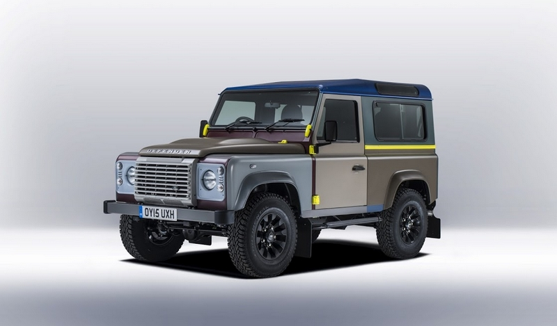Land Rover's tailor-made Defender for Paul Smith-2015