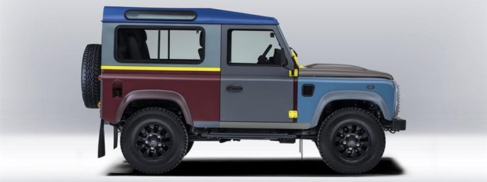 Land Rover's tailor-made Defender for Paul Smith