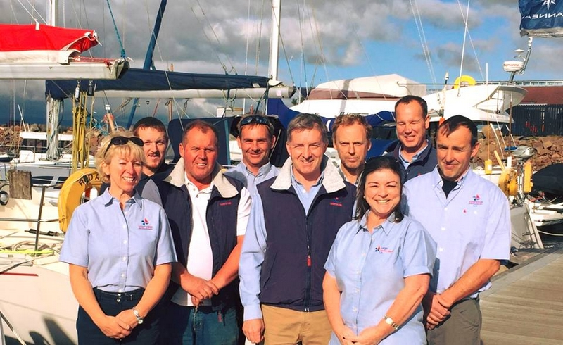 Largs Yacht Haven team 2015-2016