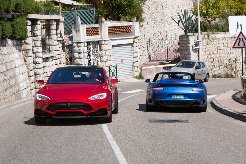 Larte Design on Monaco roads