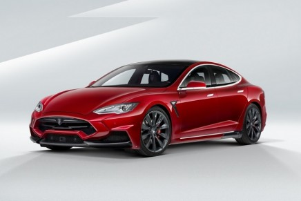 Have a look at the final Tesla S Elizabeta by LARTE Design