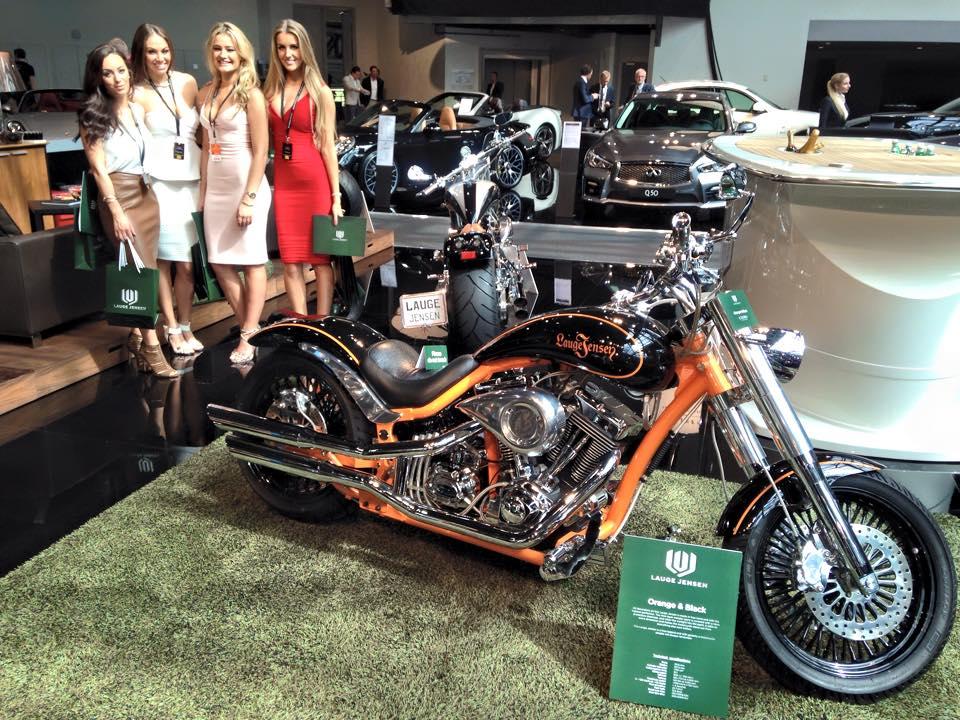Lauge Jensen Motorcycles --Orange & Black