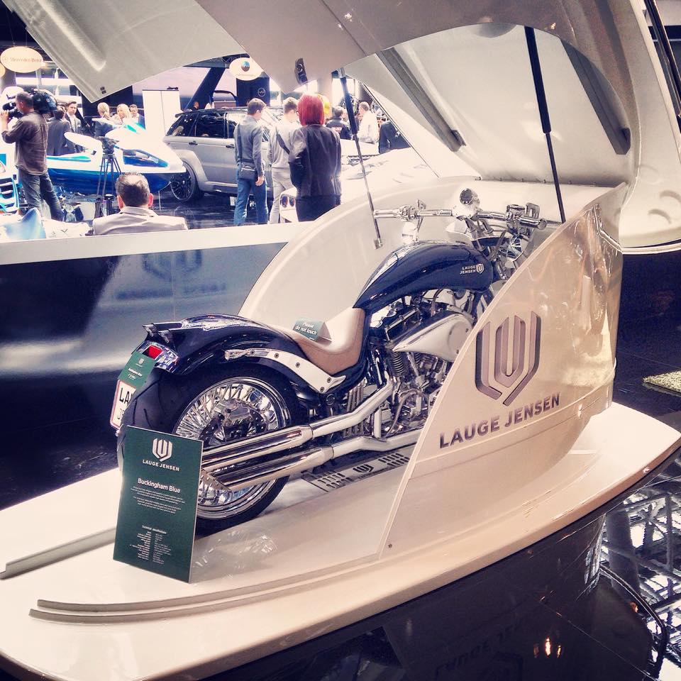 Lauge Jensen Motorcycles -The Tender solution-