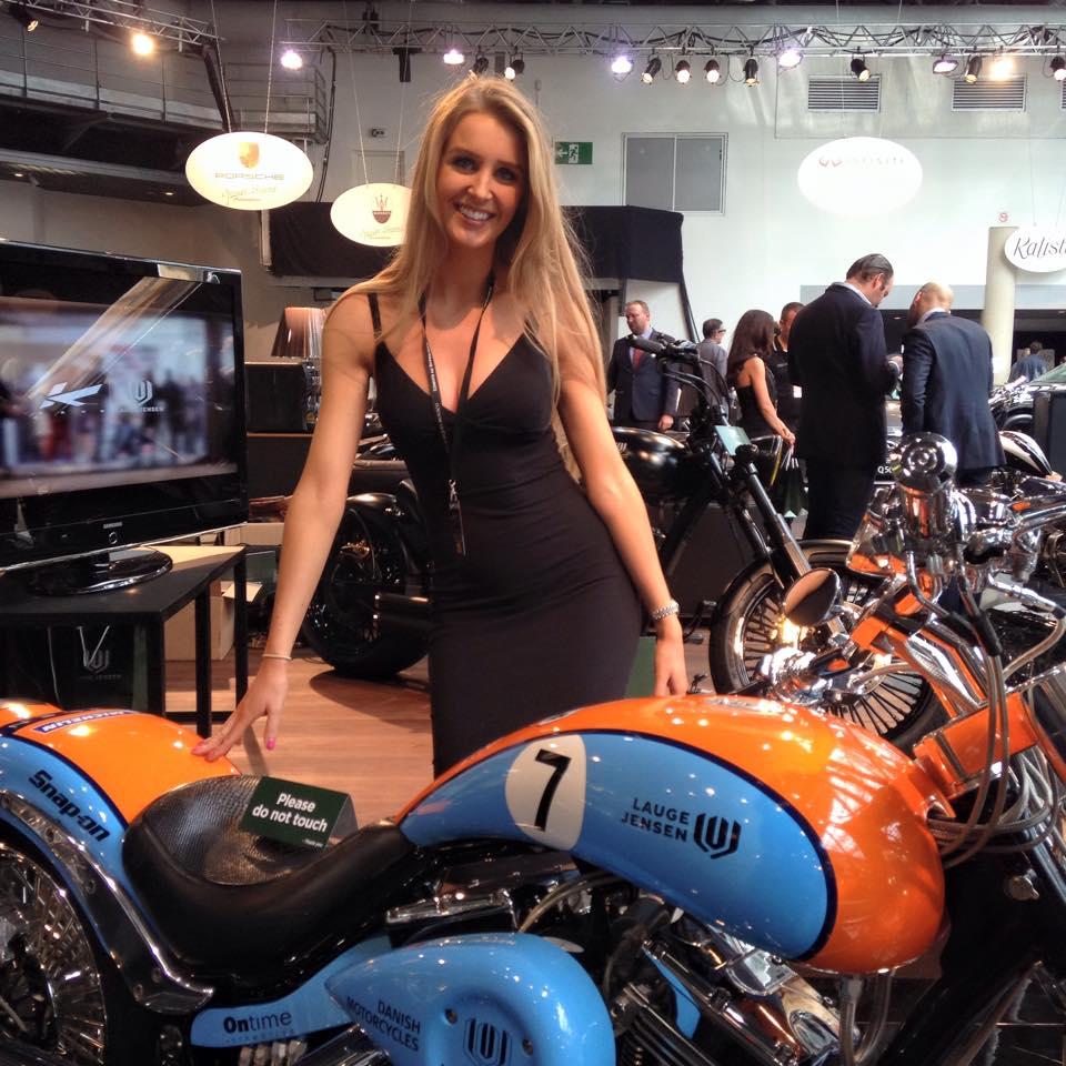 Lauge Jensen Motorcycle Viking